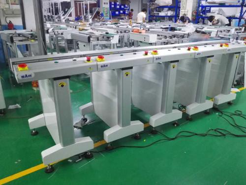 Transportador de Inspección de PCB de tipo 0.6Mt Euro de precisión de SAM