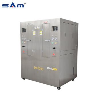 الفولاذ المقاوم للصدأ خزان مزدوج هوائي استنسل تنظيف الجهاز للاستنسل SMT و WBC