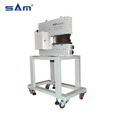 Máquina depaneling de PCB con estrés de corte más bajo SAM