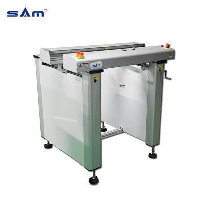 Transportador de inspección de PCB de banda plana SAM de 1Mt con una sección / dos secciones