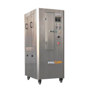 Máquina de limpieza de plantilla neumática (gabinete de acero inoxidable)