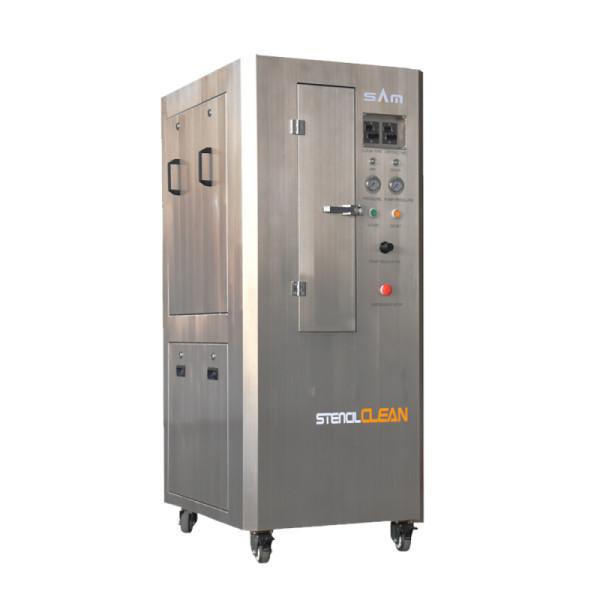 آلة التنظيف الاستنسل الهوائية (خزانة الفولاذ المقاوم للصدأ)