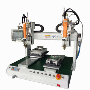 Desktop Automatic screw locking machine with 6 axis