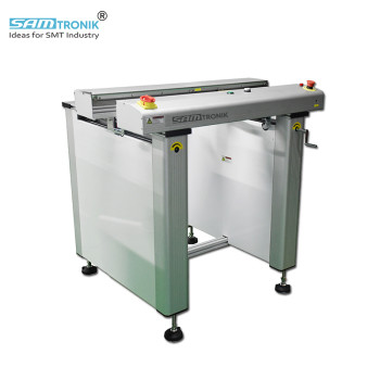 SAM Flat belt PCB Inspection Conveyor 1Mt with one section/two section