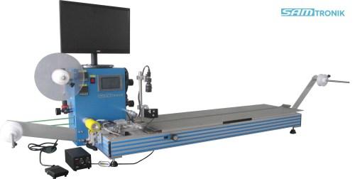 SM-1000C شبه التلقائي آلة الشريط المكون