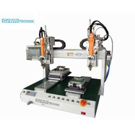 Desktop Automatic screw locking machine with 6 axis