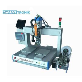 Desktop Automatic screw tighten machine with four axis