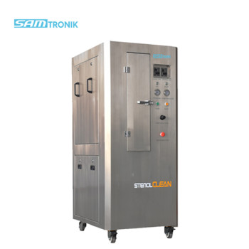 Pneumatic stencil cleaning machine (stainless steel cabinet )