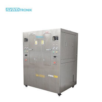 Stainless steel Double tank Pneumatic Stencil Cleaning machine for SMT and WBC stencils