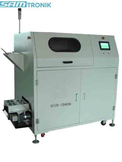 ECON-SD800 Máquina de separación de escoria de soldadura de eficiencia automática