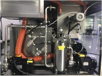 Máquina de limpieza de rasquetas -SME-220