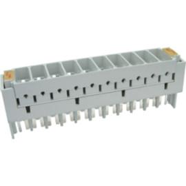KRONE 2-pole protection cartridge 10 pairs strip,Cartucho protección KRONE 2 polos regleta