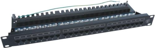 JP-6414 cat5e 24 port patch panel