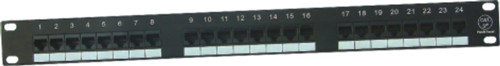 JP-6416 cat5e 24 port patch panel
