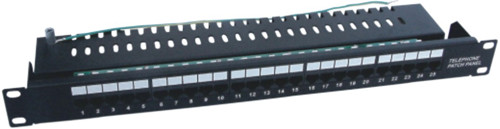 JP-6419 cat5e 25 port telephone patch panel