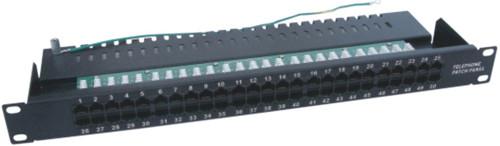 JP-6420 cat3 50 port telephone patch panel