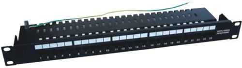 JP-6421 cat3 25 port telephone patch panel