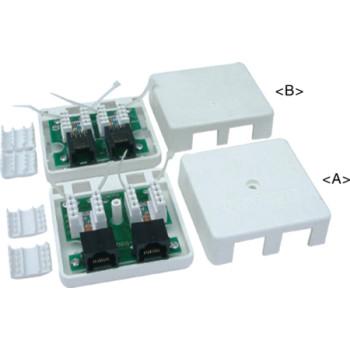 超5类RJ45桌上盒 JC-2109