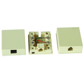 RJ11桌上盒  JC-2113