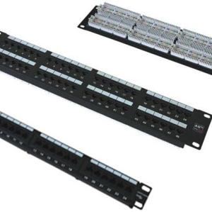 24 ports Cat5e patch panel , Patch Panel Cat 5E 24 puertos