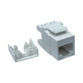 Cat 6 UTP 180° Ethernet Keystone Jack Universal Wiring T568A/B