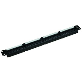 Cat 6 UTP 24 Port Rack-Mount Patch Panels