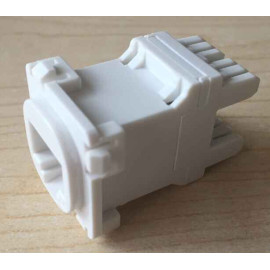 Cat 6 RJ45 Jack Australian Style 180 degree