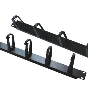 5-Ring Metal Cable Management Panel, 1U & 2U