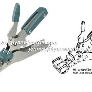 ms-v3 244271-1 AMP Picabond hand Crimp Tool Wide Handle VS-3 Picabond Ratchet Crimper