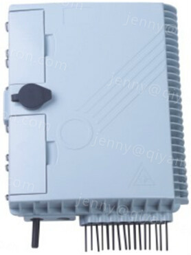Outdoor fiber optic PLC Splitter plastic Distribution Box 16 Core for FTTH