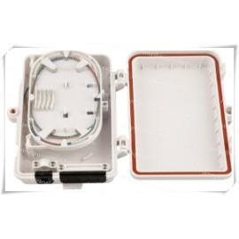 4 Core Mini FTB Fiber Optic Termination Box Waterproof FTTH/FTTX Distribution Box