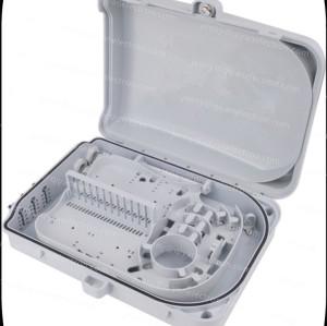 24 Cores Fiber Optic Splice Box Plastic Fiber To Home Splitter Distribution Box for uncut cable