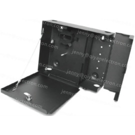 Fiber Wall Mount Distribution Panel Box LOCKABLE 12-24-48 with lock 4 plates