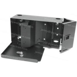 Fiber Wall Mount Distribution Panel Box, with lock, 2 plates