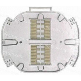 FTTH Closure Splice Tray with Protecting Tube, Easy to Operate, Suitable for Single Core Cable