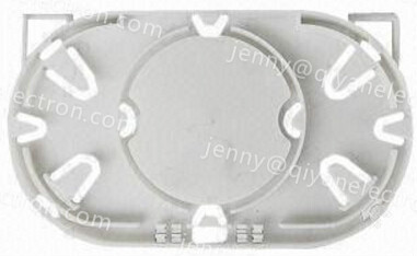 Fiber tray, suitable for single core cable
