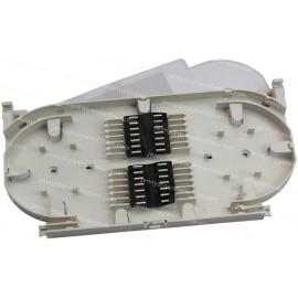 24 cores optical fiber splice tray
