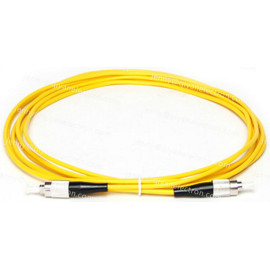 FC to FC 9/125µm OS2 Simplex Single Mode  Fiber Optic Patch Cable