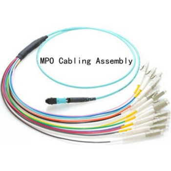 MTP/MPO Fiber Optic Harness Fan-out/Breakout Cable