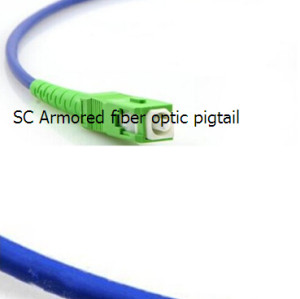 Fiber Optic Pigtails Armored LC(sc)ST(fc) (UPC/APC) Single-Mode/multimode Simplex/Multimode