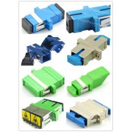 SC Simplex/Duplex Plastic/Metal Fiber Optic Adapter/hybrid adapters