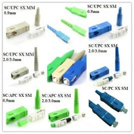 SC/PC/APCUPC Singlemode/multimode simplex/duplex Fiber Optic Connector