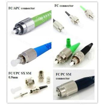 FC/PC/APCUPC Singlemode/multimode simplex ø0.9/2.0/3.0mm Fiber Optic Connector