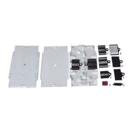 12 cores heat fusion fiber optic splice tray