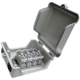4 pair distribution box for  STB module             JA-2062