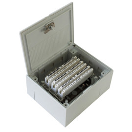 30 pair distribution box with Coin                      JA-2049