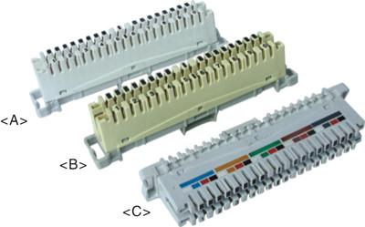 10 pair LSA disconnection module    JA-1001