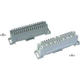 8 pair LSA disconnection module     JA-1003