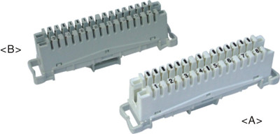 8 pair LSA connection module  JA-1003C