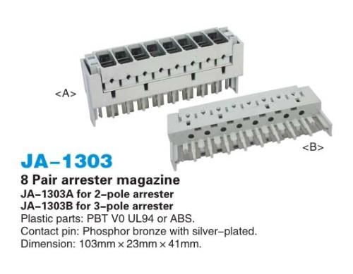 8 parafoudre paire magazine / protection contre les surtensions revue JA-1303